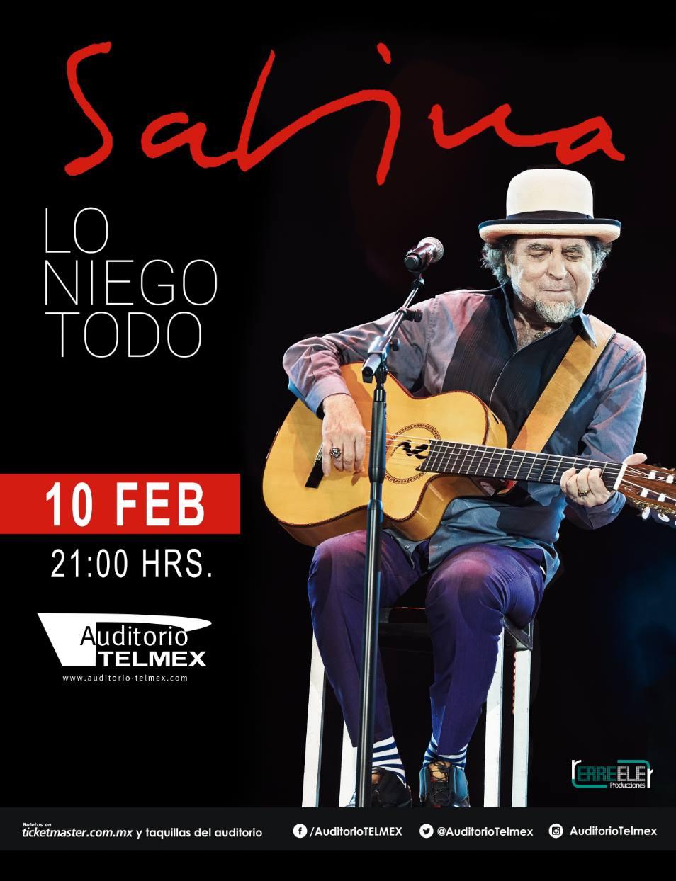 JOAQUIN SABINA - 10 de Febrero @ Auditorio Telmex