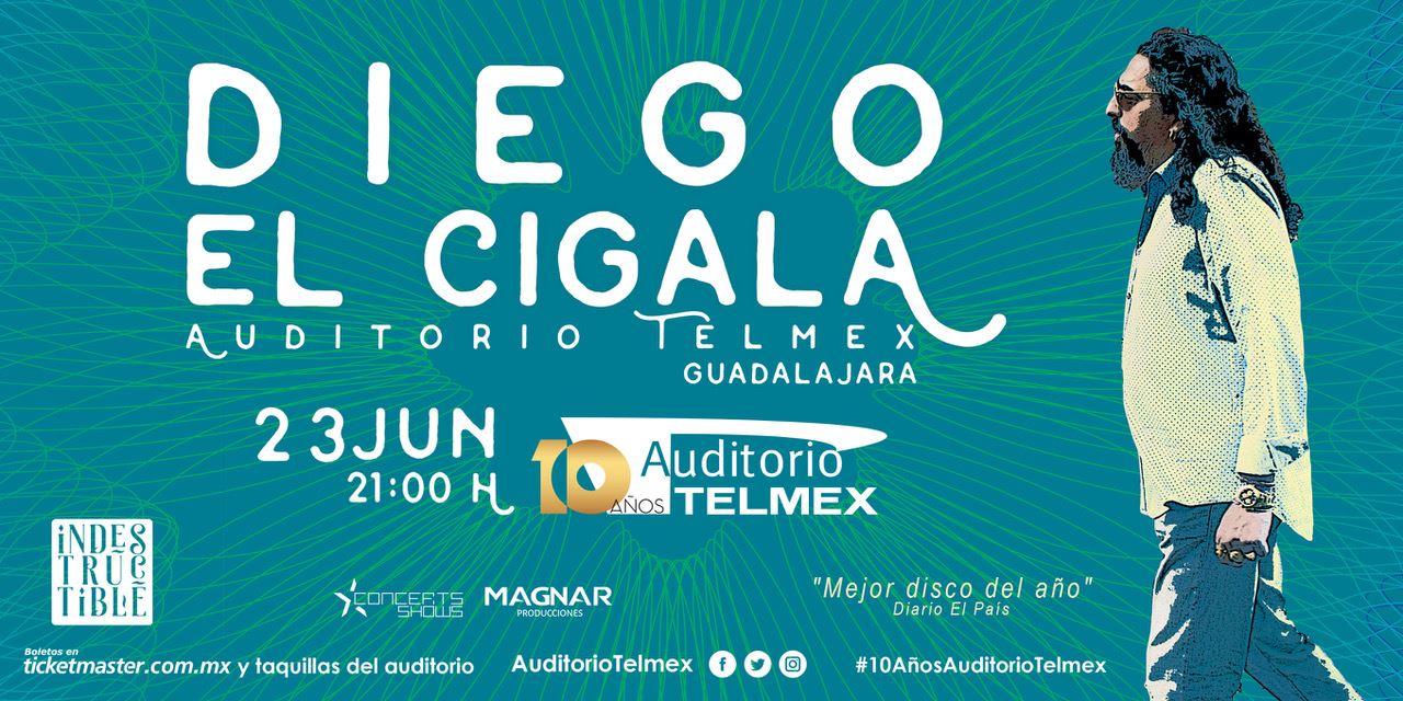 Diego El Cigala - 23 de Junio @ Auditorio Telmex