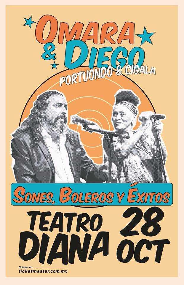 Omara Portuondo & Diego El Cigala - 28 de Octubre @ Teatro Diana