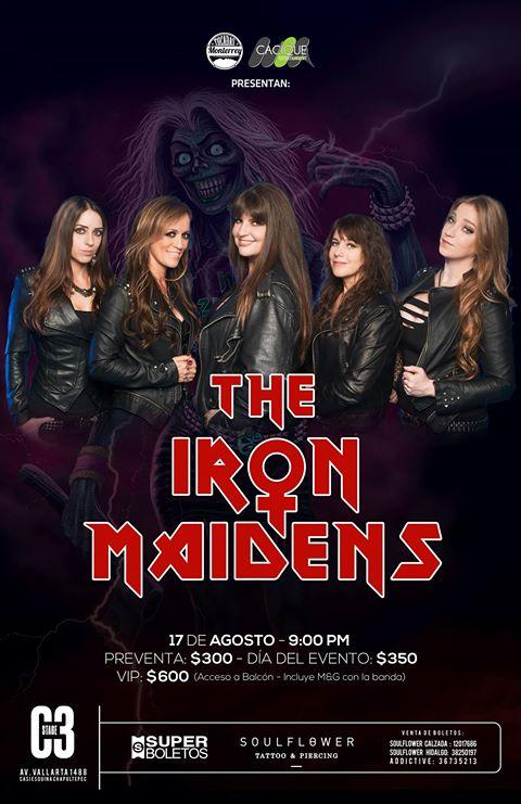 The Iron Maidens - 17 de Agosto @ C3 Stage