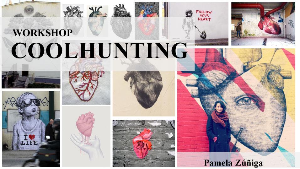 Workshop de Coolhunting con Pamela Zuñiga, 2 y 9 de Septiembre en Nevermind