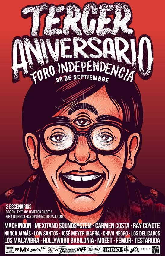 Tercer Aniversario Foro Independencia - 30 de Septiembre @ Foro Independencia