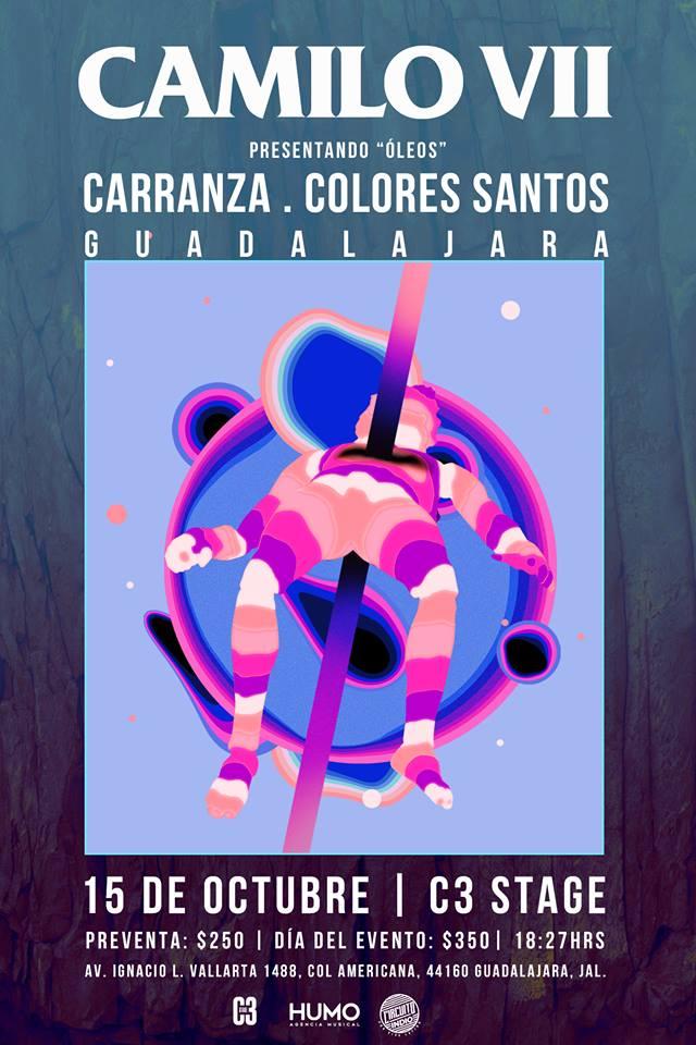#CircuitoIndio: Camilo Séptimo - 15 de Octubre @ C3 Stage