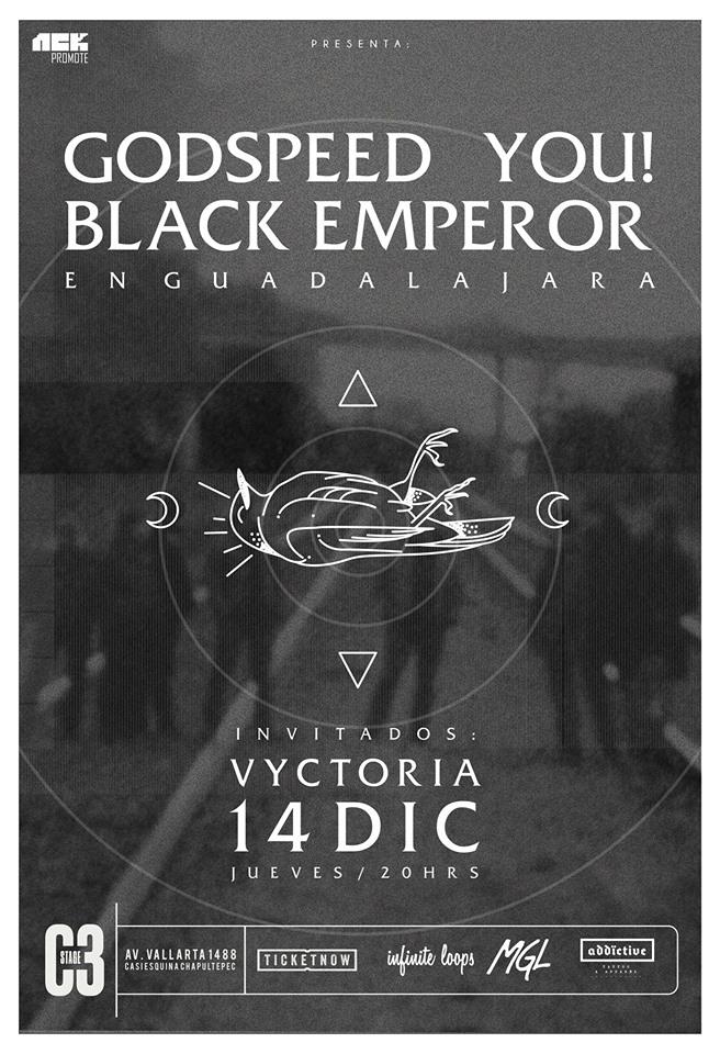 Godspeed You! Black Emperor - 14 de Diciembre @ C3 Stage