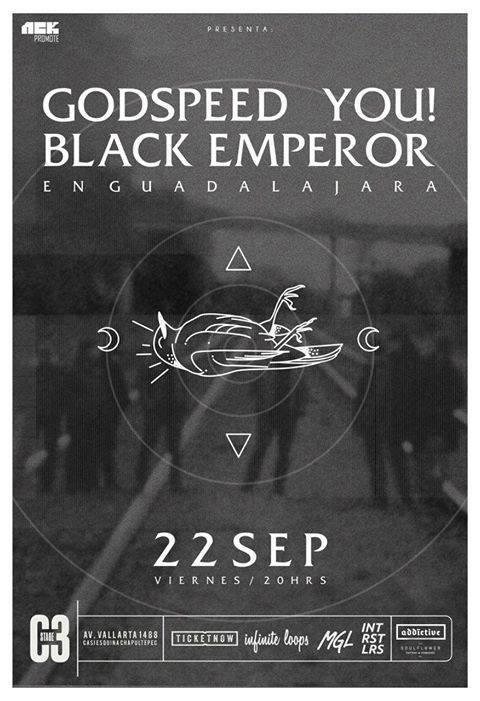 Godspeed You! Black Emperor - 22 de Septiembre @ C3 Stage