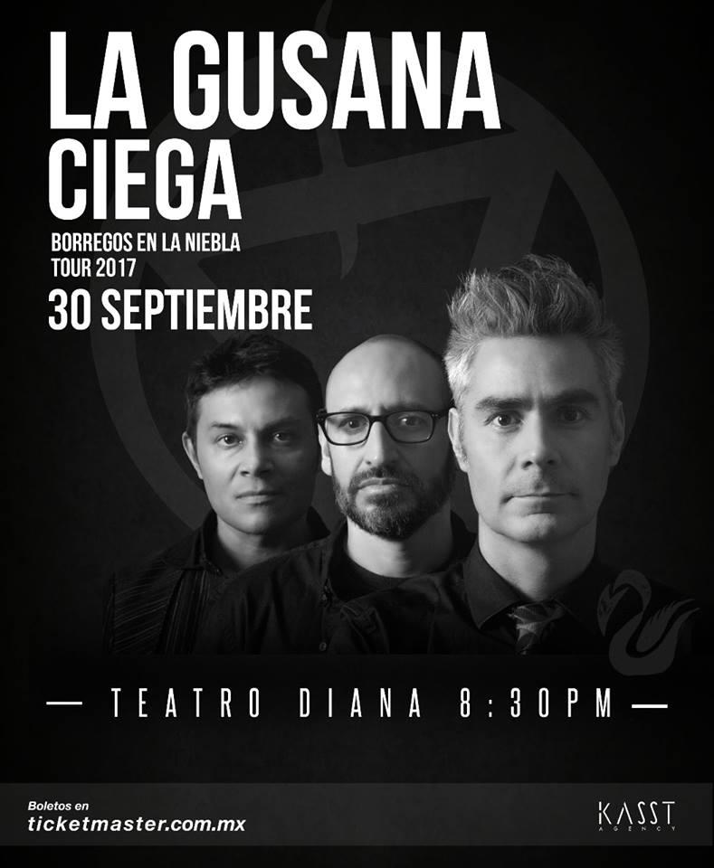 La Gusana Ciega - 30 de Septiembre @ Teatro Diana