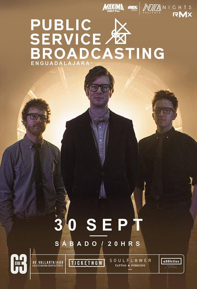 Public Service Broadcasting - 30 de Septiembre @ C3 Stage