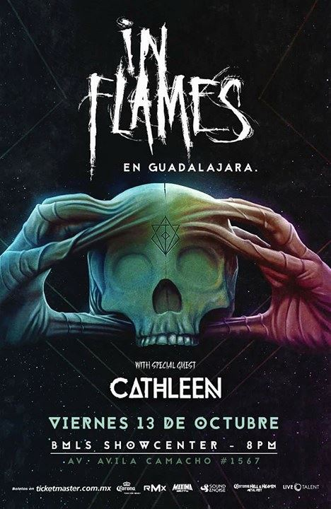 In Flames - 13 de Octubre @ BMLS Showcenter