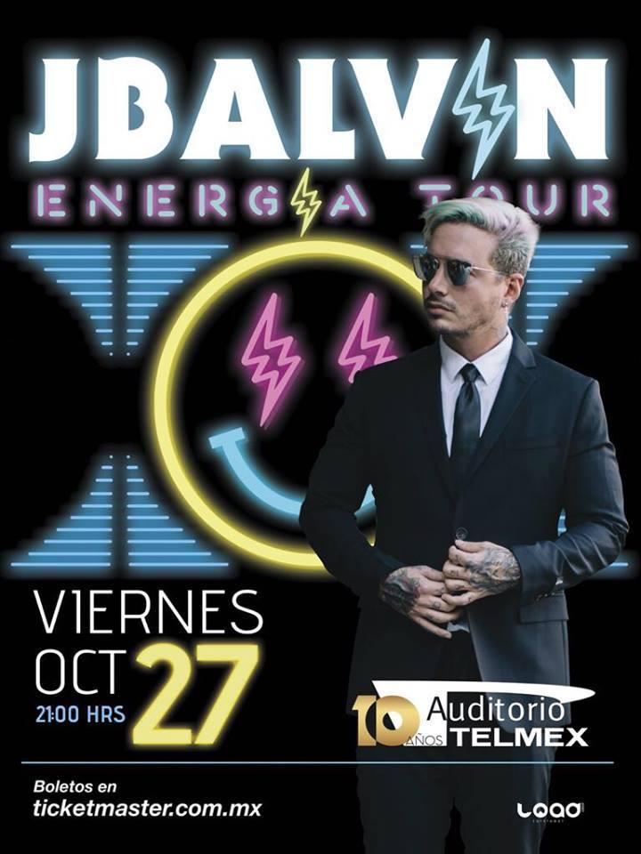J Balvin - 27 de Octubre @ Auditorio Telmex