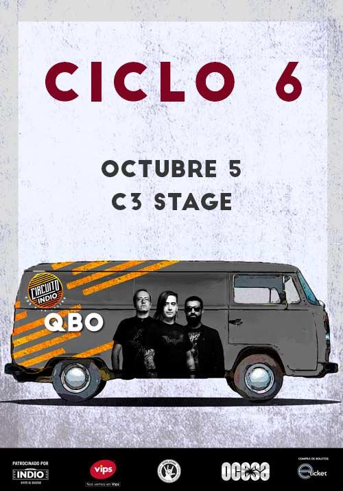 #CircuitoIndio QBO + Zoviet - 5 de Octubre @ C3 Stage