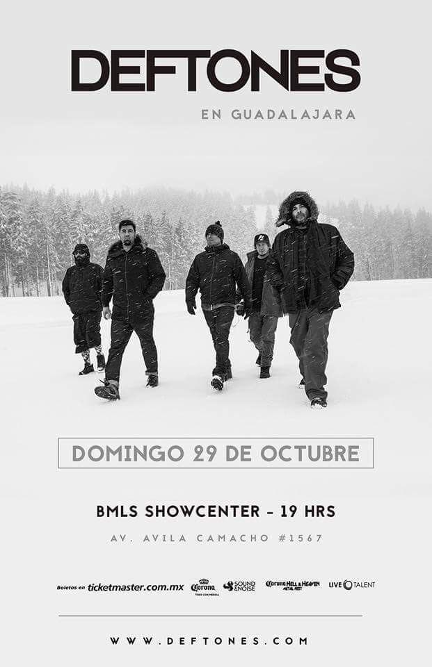Deftones - 29 de Octubre @ BMLS Showcenter