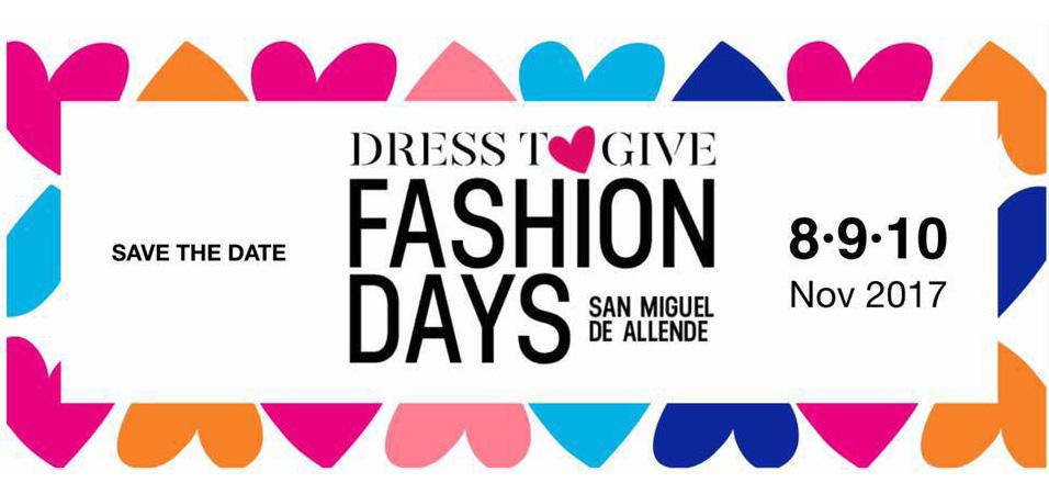 Fashion Days San Miguel De Allende, 8, 9 y 10 de Noviembre en San Miguel de Allende, Guanajuato