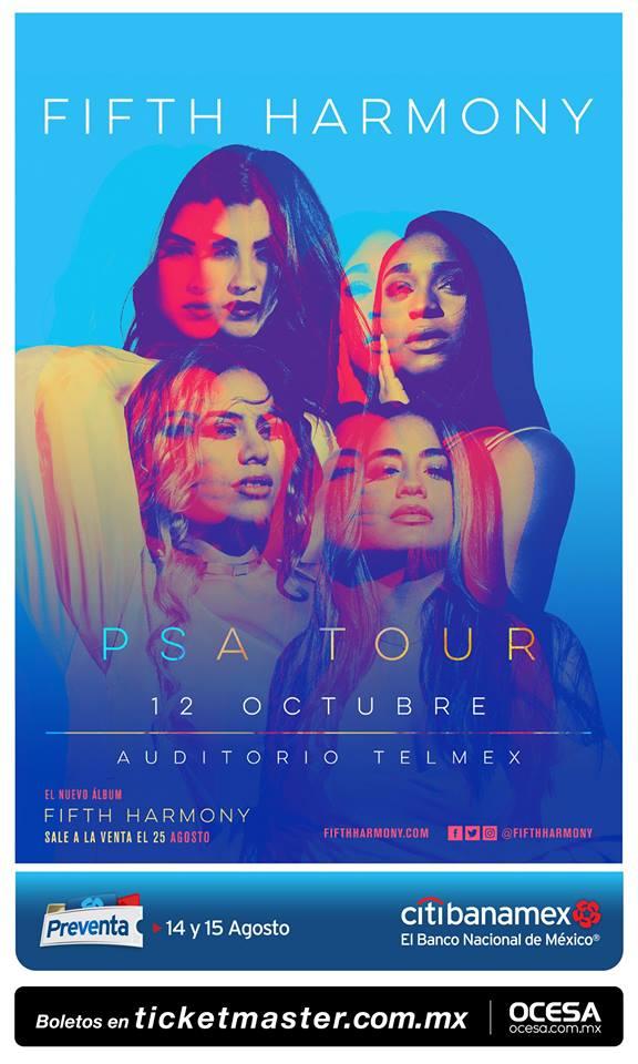 Fifth Harmony - 12 de Octubre @ Auditorio Telmex
