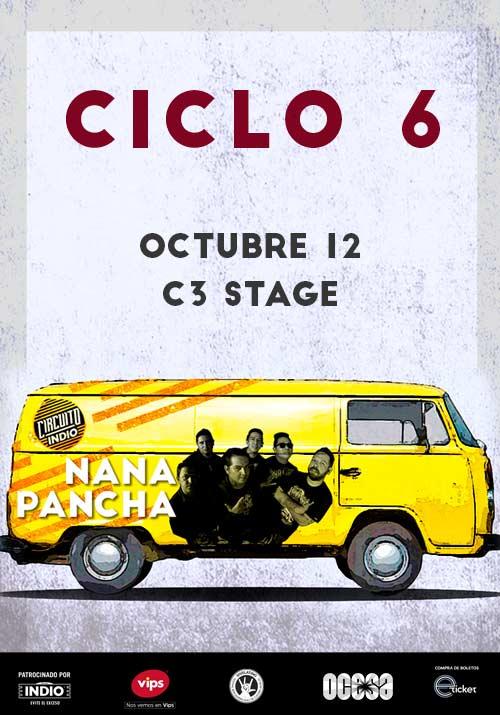 #CircuitoIndio Nana Pancha - 12 de Octubre @ C3 Stage