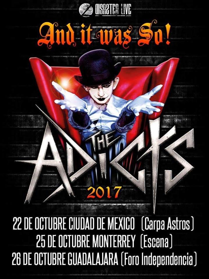 The Adicts - 26 de Octubre @ Foro Independencia
