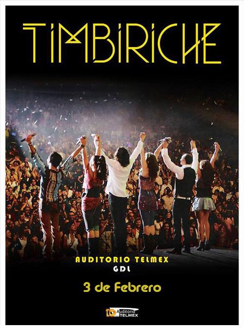 Timbiriche - 3 de Febrero @ Auditorio Telmex