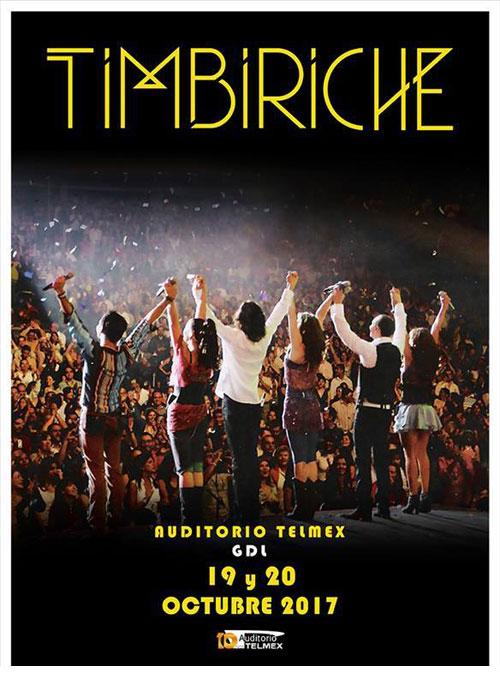 Timbiriche - 19 , 20 y 21 de Octubre @ Auditorio Telmex