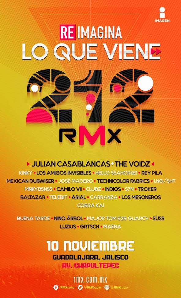 RMX 212 - 10 de Noviembre @ Paseo Chapultepec
