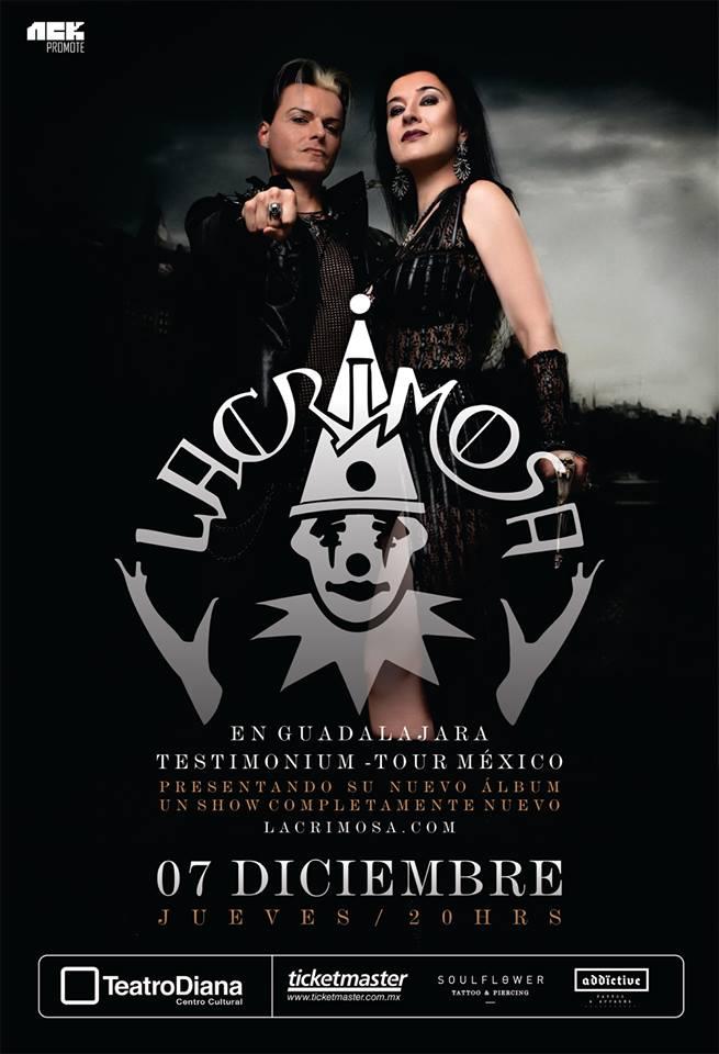 Lacrimosa - 7 de Diciembre @ Teatro Diana