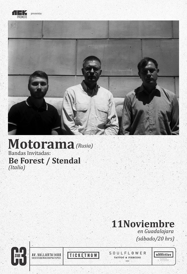 Motorama - 11 de Noviembre @ C3 Stage