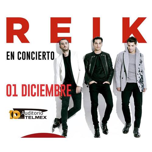 Reik - 1 de Diciembre @ Auditorio Telmex