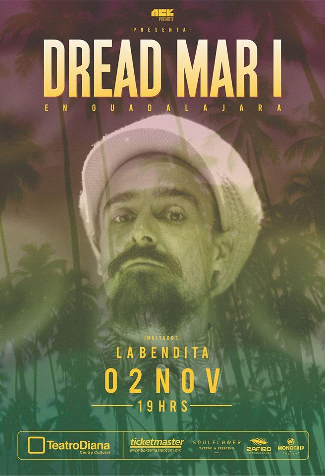 Dread Mar I - 2 de Noviembre @ Teatro Diana
