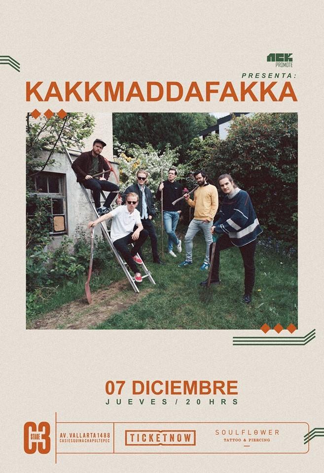 Kakkmaddafakka - 7 de Diciembre @ C3 Stage