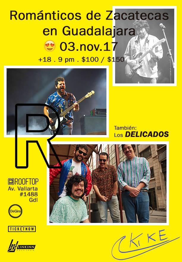 Los Románticos de Zacatecas  - 3 de Noviembre @ C3 Stage (Rooftop)