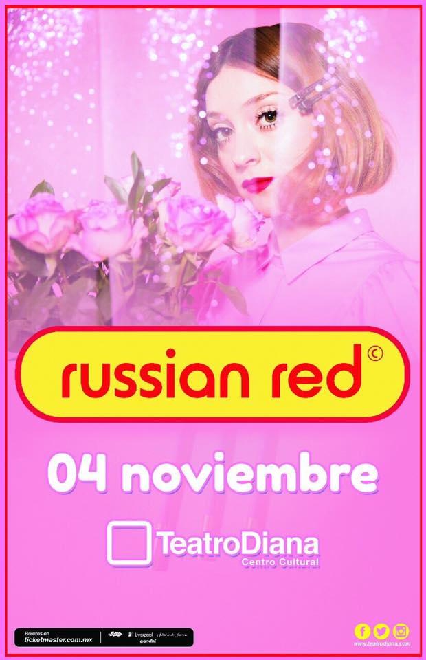 Russian Red - 4 de Noviembre @ Teatro Diana