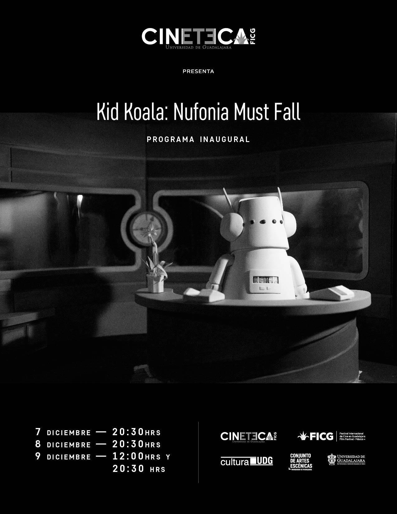 Nufonia Must Fall del DJ canadiense Kid Koala - 7, 9 y 9 de diciembre en Conjunto de Artes Escénicas