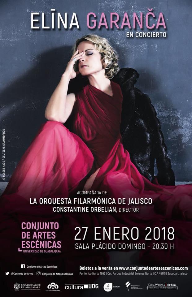 Elīna Garanča, 27 de Enero en Conjunto de Artes Escénicas