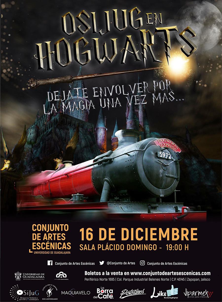 La Orquesta Sinfónica Juvenil de Guadalajara en Hogwarts, 16 de Diciembre en Conjunto de Artes Escénicas