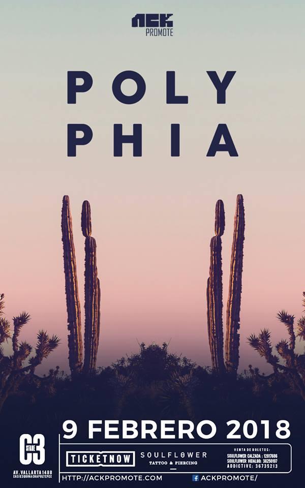 POLYPHIA - 9 de Febrero @ C3 Stage