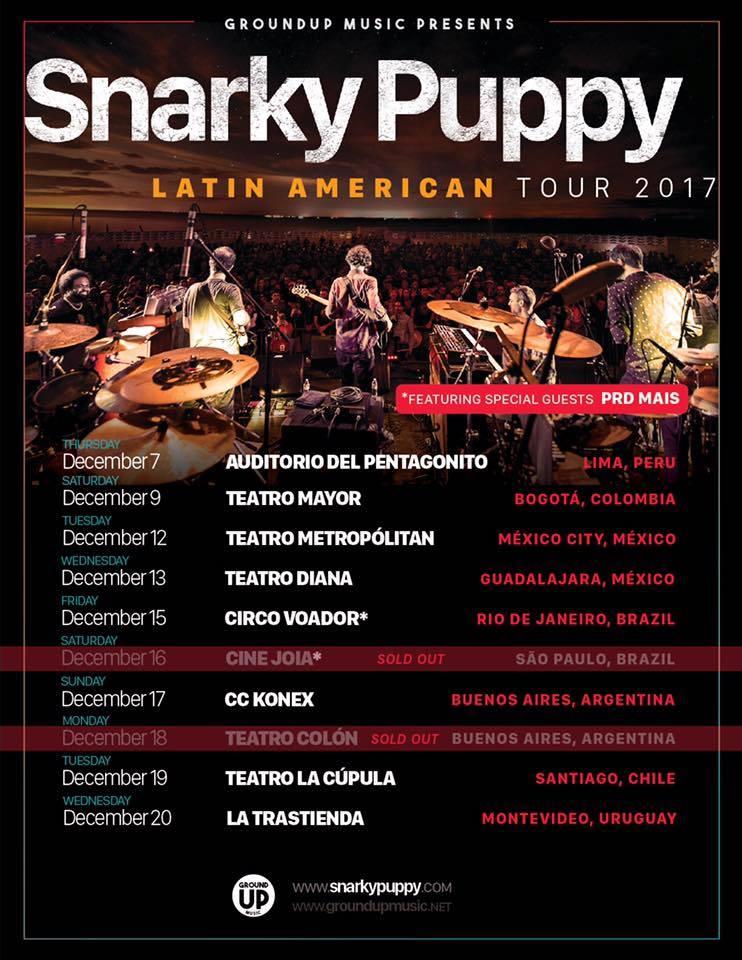 Snarky Puppy - 13 de Diciembre @ Teatro Diana