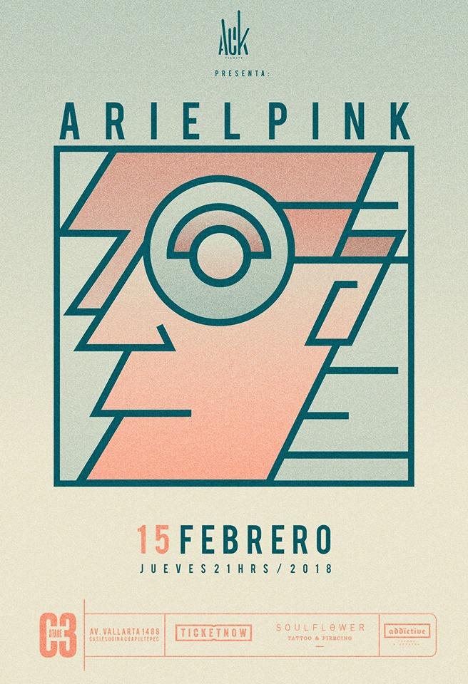Ariel Pink - 15 de Febrero @ C3 Stage
