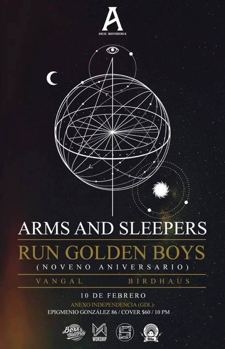 Arms and Sleepers - 10 de Febrero @ Foro Independencia (Anexo)