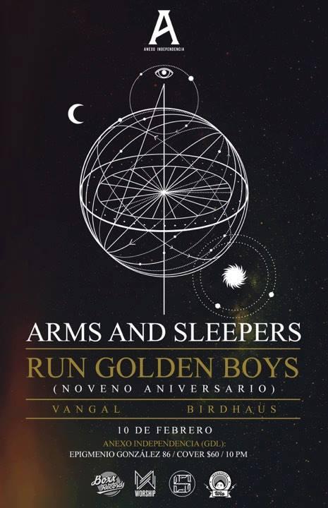 Arms and Sleepers - 10 de Febrero @ Foro Independencia (Anexo)