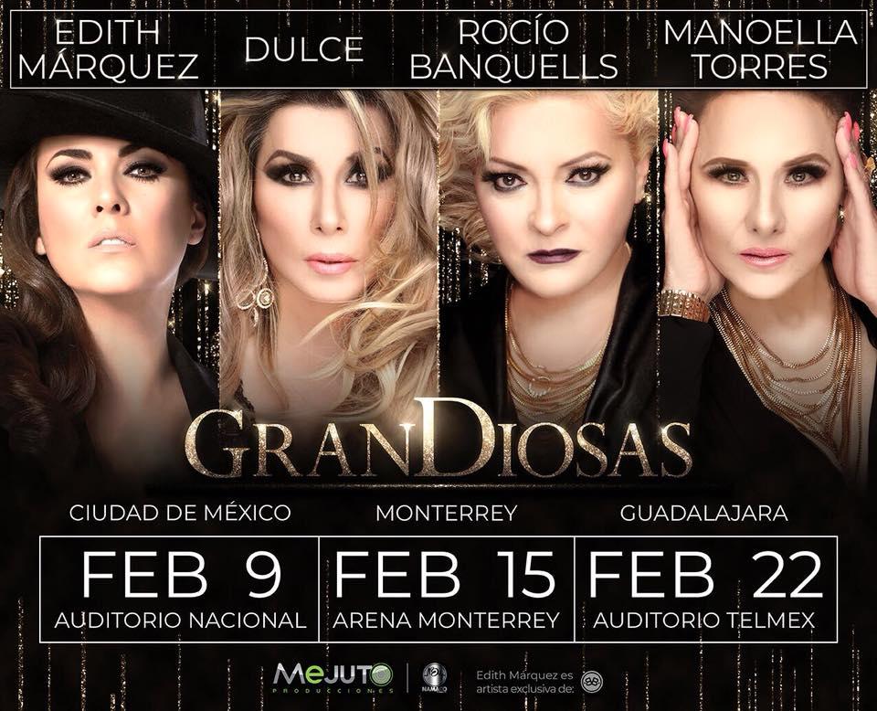 Grandiosas - 22 de Febrero @Auditorio Telmex