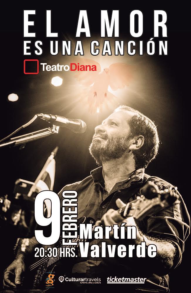 Martín Valverde - 9 de Febrero @ Teatro Diana