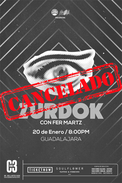 Zurdok con Fernando Martz - CANCELADO
