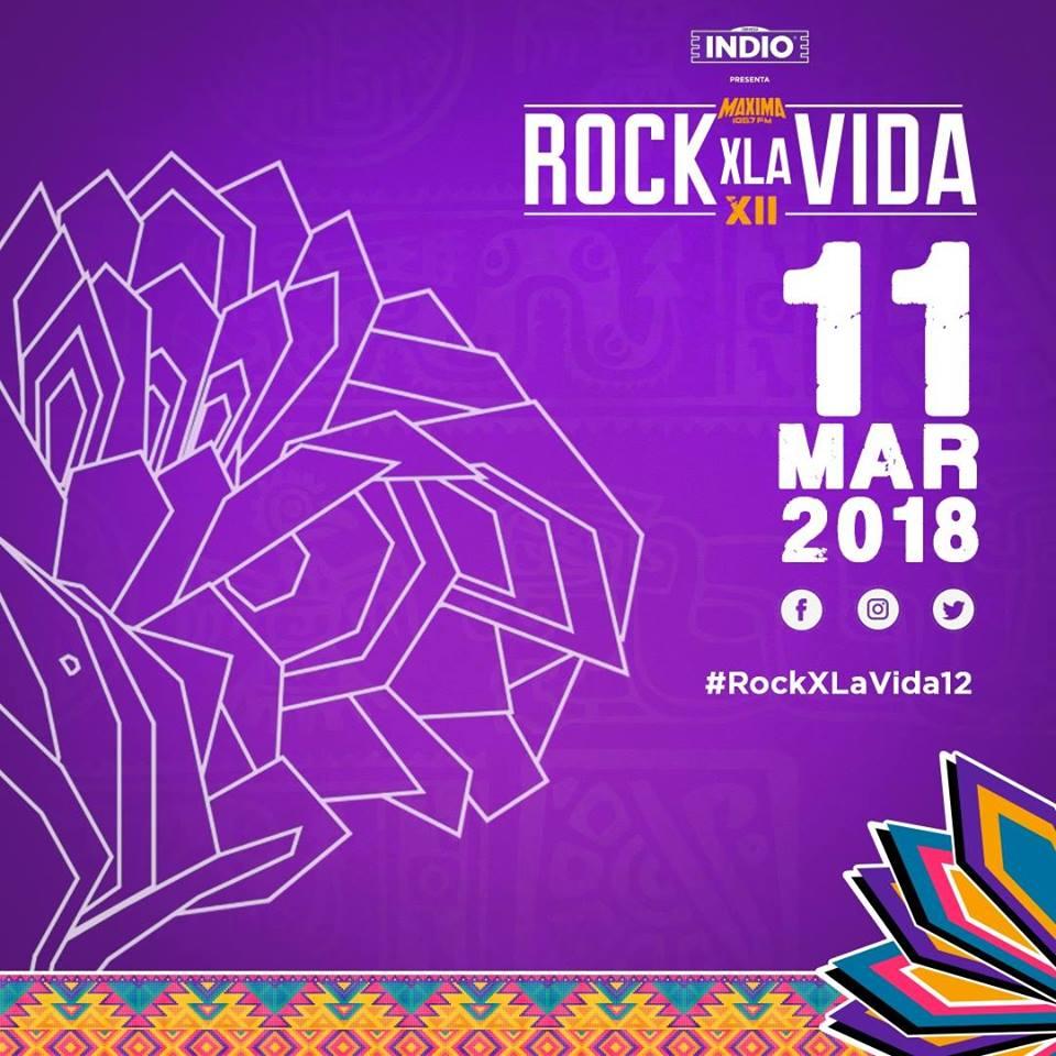 Rock X La Vida 12 - 11 de Marzo @ Parque Agua Azul