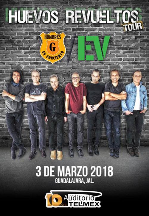 Huevos Revueltos Tour - 3 de Marzo @ Auditorio Telmex