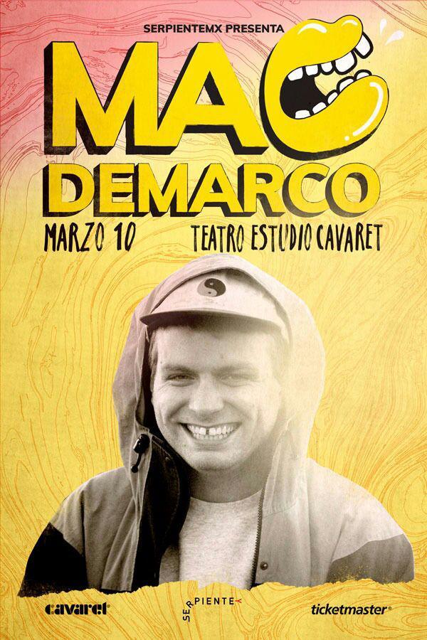 Mac DeMarco - 10 de Marzo @ Teatro Estudio Cavaret