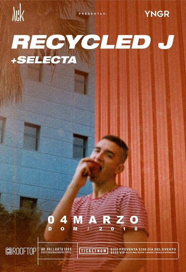 Recycled J - 4 de Marzo @ C3 Stage (Rooftop)