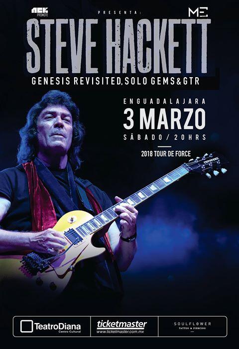 Steve Hackett - 3 de Marzo @ Teatro Diana