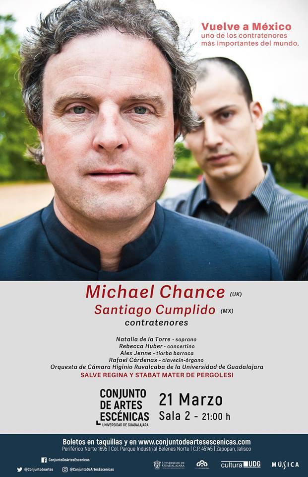 Michael Chance & Santiago Cumplido - 21 de Marzo, Conjunto de Artes Escénicas