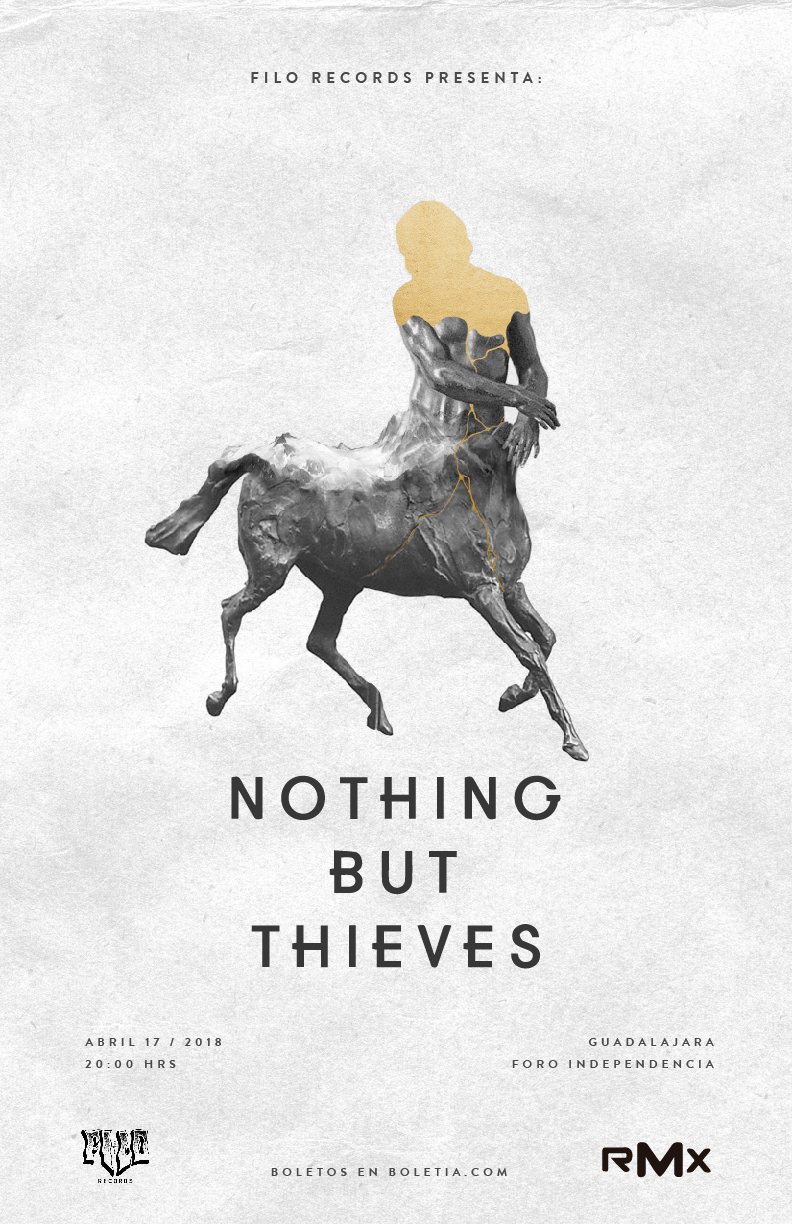 Nothing But Thieves - 17 de Abril @ Foro Independencia (Anexo)