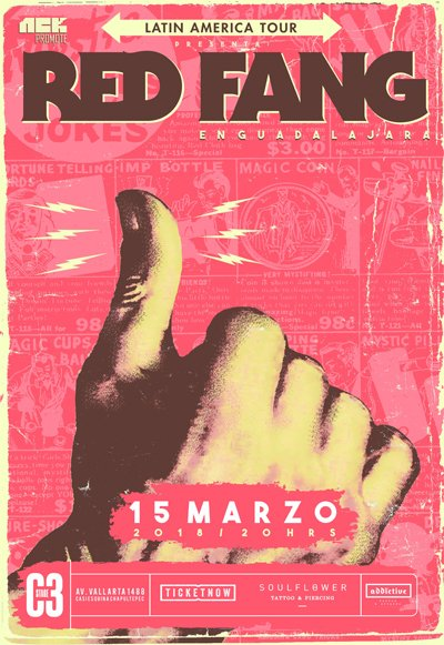 Red Fang - 15 de Marzo @ C3 Stage