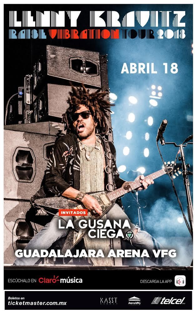 Lenny Kravitz - 18 de Abril @ Arena VFG
