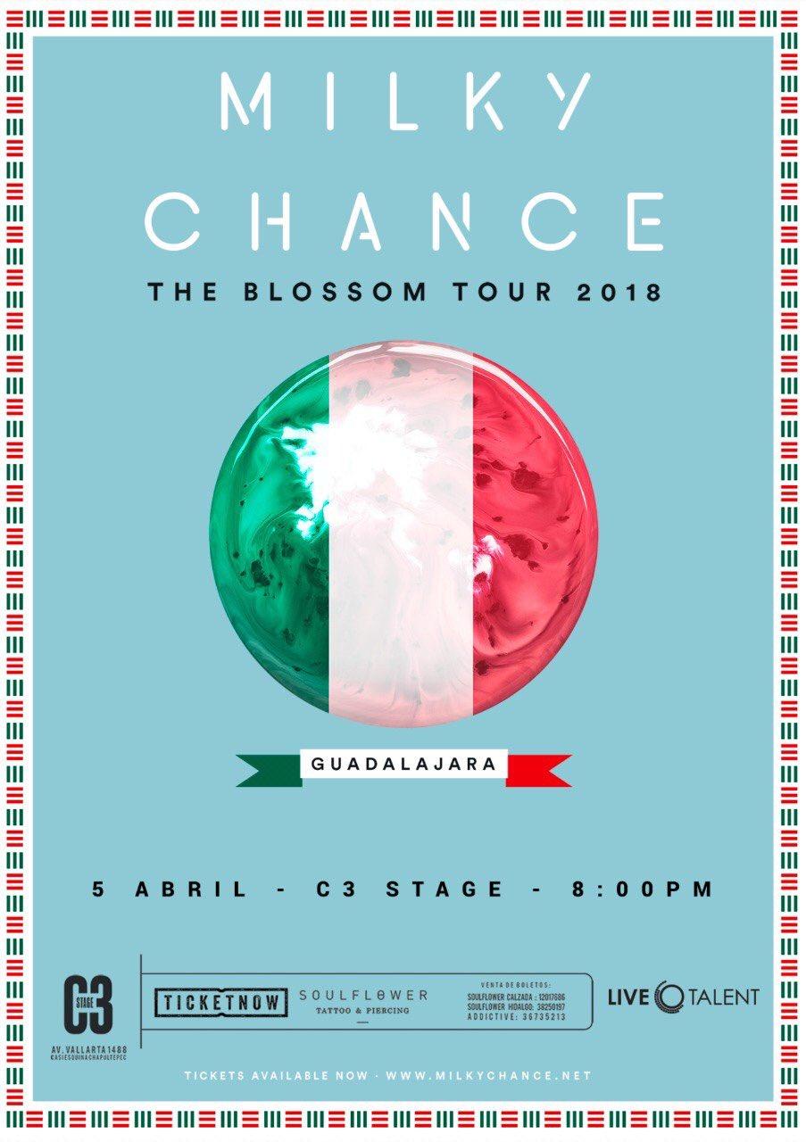 Milky Chance - 5 de Abril @ C3 Stage